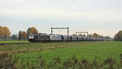 LTE 189 200 + 186 427 met graanwagens (twenterail) Tags: railroad train eisenbahn zug trein spoorwegen traxx vtg lte es64f4 e189200 graanwagens