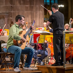 Chester Philharmonic with Craig Ogden (14th Nov 2015) (Mark Carline) Tags: cheshire chester orchestra philharmonic chestercathedral craigogden chesterphilharmonic