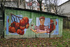 Symbol (Dilkone) Tags: street autumn streetart public rose graffiti mural symbol spray com virginity kickit colaboration keno 2015 dilk kalyna colabo guelder