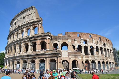 Le Colisée - Amphithéâtre Flavien / Colosseo - Amfiteatro Flavio