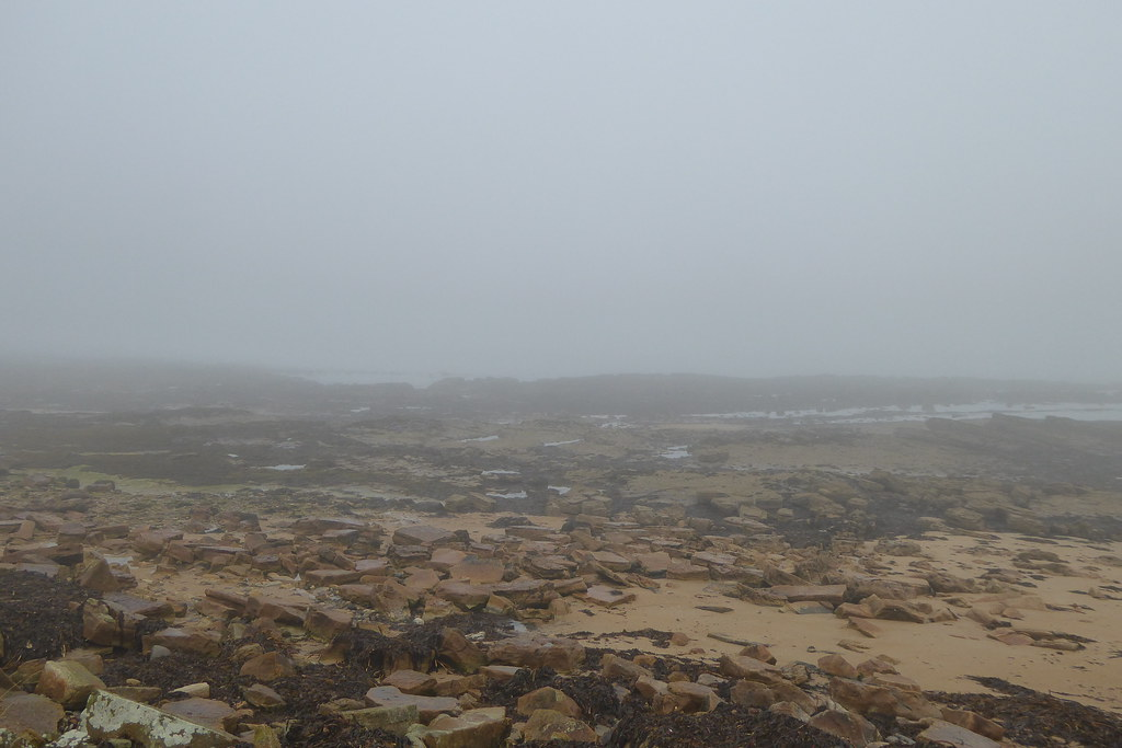 Atmospheric beach at Kingsbarns