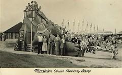 Middleton Tower Holiday Camp (trainsandstuff) Tags: vintage postcard retro pontins holidaycamp middletontower