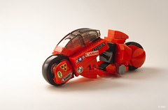 Akira  Kaneda's Bike _14 (_Tiler) Tags: anime bike lego manga motorcycle akira cyberpunk kaneda otomo katsuhiro