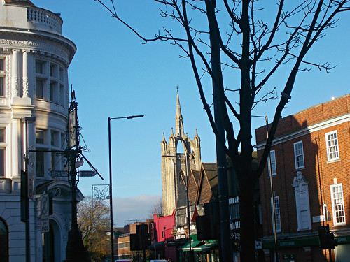 Historic crossroads, SUTTON, Surrey, Greater London