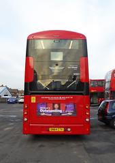 GAL WSD1 - SN64CTV - REAR - BX BEXLEYHEATH BUS GARAGE - MON 23RD NOV 2015 (Bexleybus) Tags: bus london ahead garage go bexleyheath bx goahead wrightbus streetdeck wsd1 sn64ctv