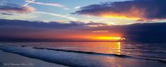 Sunrise (rhfo2o - rick hathaway photography) Tags: sea sun beach sunrise seaside samsung rustington rhfo2o samsunggalaxys6 rustingtonrocks