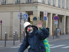 Space Invader PA_556 (feat. la Vlorution Plantaire) (tofz4u) Tags: streetart paris bike bicycle tile demo mosaic clown spaceinvader protest spaceinvaders demonstration invader vlo manif manifestation mosaque artderue 75005 vlorution cop21 pa556 05122015 vlorutionplantaire