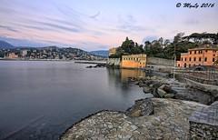 Happy new year (Maurizio Longinotti) Tags: sea italy seascape dawn italia mare alba d rapallo liguria happynewyear awn 2016 tigullio buonanno baiadeisogni