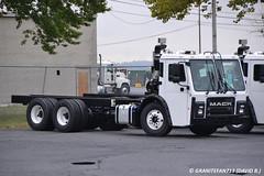 Mack LR613 Chassis (Trucks, Buses, & Trains by granitefan713) Tags: chassis mack coe lr newtruck cabover macktruck refusetruck newmodel lowentry macklr refuseindustry macklr613 lr613