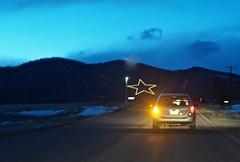 One Evening on Highway 105 (ricko) Tags: car colorado driving nightfall palmerlake highway105 mdpd2015 mdpd1512 palmerlakestar