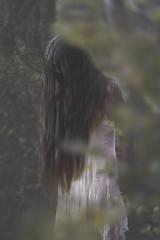 HORNS (oroyplata.) Tags: portrait girl forest shadows fine surreal concept conceptual rafa irreal lavado macas oroyplata