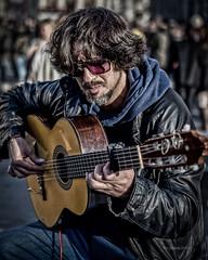 El Chino HC9Q9597-1a (rodwey2004) Tags: london artist trafalgarsquare busker guitarist streetentertainer elchino manuelbrenes