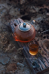evening tea time with sunset #2 (asri.) Tags: outdoor teatime foodphotography 2016 85mmf14 foodstyling