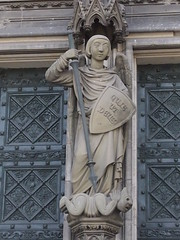 Erzengel Michael (1elf12) Tags: church angel germany deutschland michael cathedral kathedrale kirche cologne kln engel archangel klnerdom erzengel