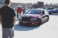 IMG_5680 (beatty.alex) Tags: pontiac g8 gt gxp cars coffee maroon red modified lowered wheels aftermarket