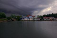 Dramatic sky (J N Photography) Tags: jeremynuyten lacdailette lac lake ailette picardie france water paysage landscape fog brume brouillard poselongue longexposure cloud centerparc sonyalpha77 dramaticsky sky orage