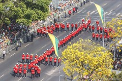 Banda Marcial dos Fuzileiros Navais - Marinha do Brasil (Enilton Kirchhof) Tags: 2015 7desetembro bandamarcial brasiliadf canoneos5dmarkiii desfile diadaindependencia fotoeniltonkirchhof marinhadobrasil ipeamarelo esplanadadosministrios