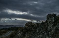 Rocks and Light - Glenkin Oct 2016 (GOR44Photographic@Gmail.com) Tags: rocks light glenkin sky scotland cloud gor44 path hills argyll bute cowal fujifilm xpro1 xf35mmf14 35mmf14