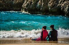 Friends (Melissa Maples) Tags: ka turkey trkiye asia  nikon d5100   nikkor afs 18200mm f3556g 18200mmf3556g vr kaputa beach mediterranean sea water burqinis women ka trkiye    kaputa