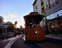 All Aboard (analoguefilm) Tags: filmphotography analog train americana glendalecalifornia bronica etrsi 40mmf4 kodak portra400 canoscan8800f sunset