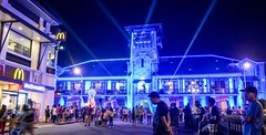 City Hall of Zamboanga during Fiesta Pilar (Jeff Pioquinto, SJ) Tags: cityhall zamboanga city philippines lights festival