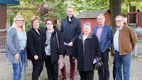 """Besuch des Kindergartens """"Die Arche"""" in Ofen mit dem SPD-Ortsverein Bad Zwischenahn."""