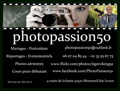 CV photopassion50 new (Photo Passion 50) Tags: carte de visite alain orvain photopassion photopassion50