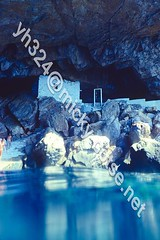 Church inside a cave; accesisble only from the sea. (transcendentant) Tags: church sea aegean mediterranean secluded private transquil hidden blue