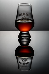 Aberlour (Tom Whitney Photography) Tags: color golden vertical aberlour aged amber barrel glass highland ll malt scotch sipping whiskey whisky