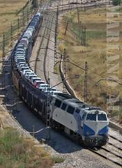 Grandes Mercancias (Mariano Alvaro) Tags: 333 tren renfe 074 mercancias cargas grandes lineas trenes vicalvaro odonnell