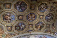 Vatican Seal (noname_clark) Tags: italy rome vacation honeymoon vatican museum ceiling seal art