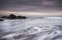 Turning Tide (Elidor.) Tags: spittal northumberland berwickupontweed dawn sunrise rocks lowtide lighthouse pier