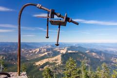 High Art (Tom Fenske Photography) Tags: ashland wagnerbutte art wilderness sculpture metal ruins nature mountain outdoors