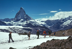 The Matterhorn (DP the snapper) Tags: switzerland alps matterhorn scanned snow gornergrat