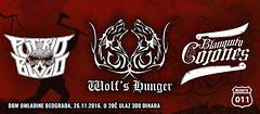 Wolf's Hunger - promocija albuma + Putrid Blood, Blanquito Cojones 26 Novembar 2016 Event (podrumarenje) Tags: event wolfs hunger promocija albuma putrid blood blanquito cojones 26 novembar 2016