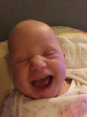 (rachelrowley88) Tags: smiles happy baby sister twin maisie