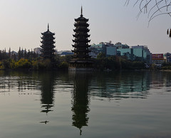 Twin towers, Guilin (RH&XL) Tags: 桂林 guilin 广西 guangxi china