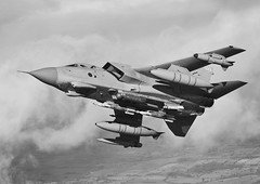 (aeroman3) Tags: ixbsqn 9sqn tornado gr4 sortie airtoair royalairforce raf equipment aircraft jet fighter offensive lightning pod brimstone litening kingslynn norfolk unitedkingdom