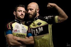 Roberto & Matteo (albertosicchiero) Tags: portrait ritratto cycling ciclismo black nero strobist lampista