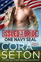 Issued to the Bride (CoverReveals) Tags: contemporary romance military navy seals cowboys rancher
