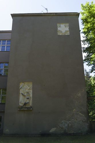 "Bareljefi uz rehabilitācijas centra ""Tērvete"" sienas, 07.06.2015."