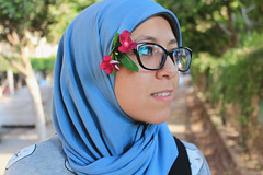 Arwa. (toqaamr) Tags: egypt egyptian portrait hijab muslim