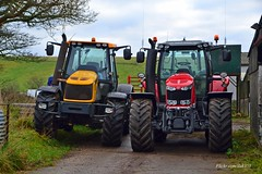 (Zak355) Tags: ploughingmatch rothesay bute isleofbute tractors old vintage scotland scottish masseyferguson jcb fastrac