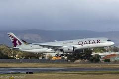 First A350 down under (Tom Marschall) Tags: ypad adl adelaide airport qatar airways a350 a359 a350941 a7alh airbus