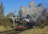 Clagging. (4486Merlin) Tags: 78018 brstd2mt260 exbr greatcentralrailway heritagerailways midlands railways signals steam transport loughborough leicestershire unitedkingdom gbr beechesroad lasthurrahgala
