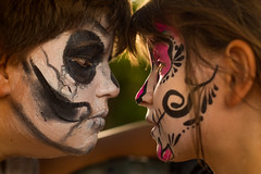 44/52 Fiestas : Halloween vs Dia de los muertos (Nathalie Le Bris) Tags: fiesta halloween dadelosmuertos retrato portrait
