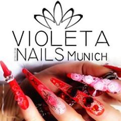 Violeta Nails Nagelstudio Mnchen (Nagelstudio Mnchen Violeta Nails) Tags: nagelstudio mnchen violeta nails nailart naildesign nageldesign gelngel stiletto french fashion kosmetik lashes waxing sugaring permanent makeup luxus munich