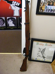 Irish Republican Socialist Museum Derry (sean and nina) Tags: irish republican socialist movement party museum james connolly house derry doire londonderry north northern ireland eire eireann artefacts display exhibition conflict history culture politics remembrance commemoration inla national liberation army citizens ica uniforms hats decommissioned weapons left wing marxist socialism republicanism irsp irsm