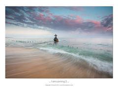 ... I am coming 2 ... (liewwk - www.liewwkphoto.com) Tags: bali beach nature sunrise indonesia photography slow filter lee nd shutter indo nuda cpl haida nusapenida gnd penida photohunter ilovebali rgnd liewwk liewwknature