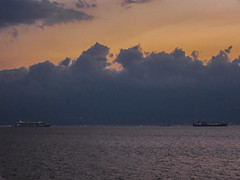 Messina Strait (Hugo Cesar Gusmao) Tags: trip travel viaje sea italy landscape europa europe paisaje viagem coastline eurotrip litoral messina itália travelphotography messinastrait estrechodemessina estrechodemesina estreitodemessina
